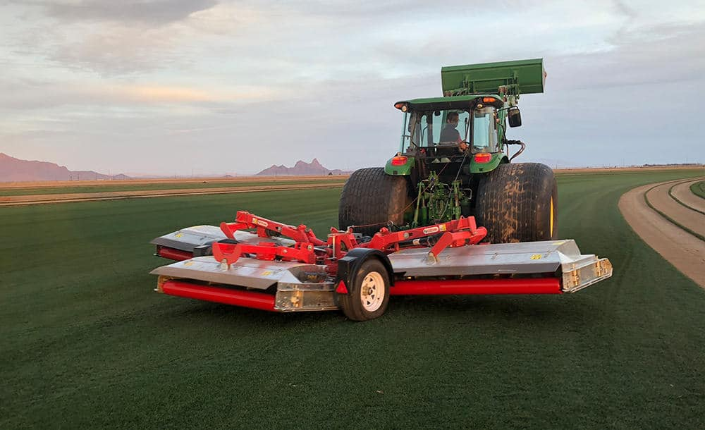 New Pegasus QuikLift Feature Saves Turf and Equipment